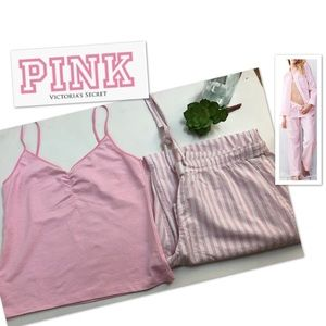 Pink Victoria's Secret top & bottoms